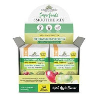 Superfoods Smoothie Mix (Wild Apple Flavour)