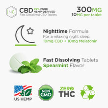 CBD sleep/night 300 mg per bottle  - Dissolving Tablets/pills/capsule 10mg with how to use CBD oil in pain,anxiety and best website to buy CBD oil THC free,No High,natural