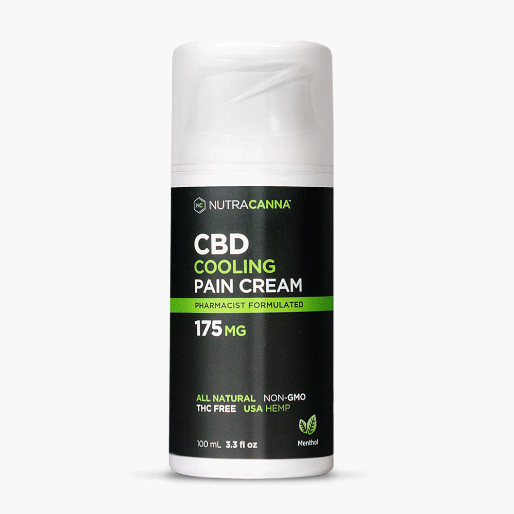 NutraCanna CBD pain cream on sale