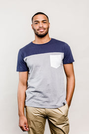 Colorblock Short Sleeve Tee