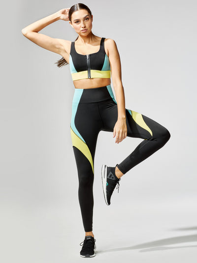 Releve Fashion Michi Circuit Bra Sonic Sustainable Fashion Athleisure Activewear Brand Positive Luxury Brands to Trust Purchase with Purpose Shop for Good