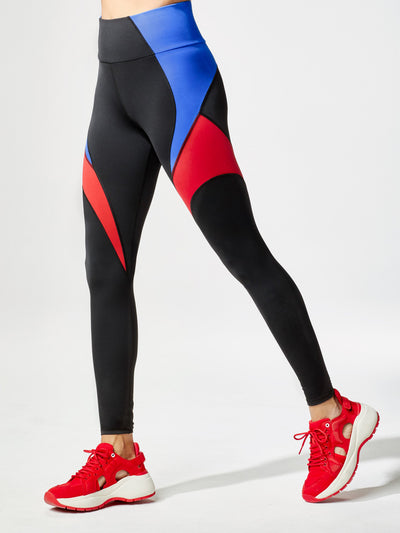 Releve Fashion Michi Circuit Legging Flame Sustainable Fashion Athleisure Activewear Brand Positive Luxury Brands to Trust Purchase with Purpose Shop for Good