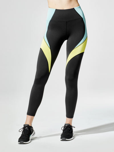 Releve Fashion Michi Circuit Legging Sonic Sustainable Fashion Athleisure Activewear Brand Positive Luxury Brands to Trust Purchase with Purpose Shop for Good