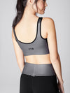 Releve Fashion Michi Gunmetal Fusion Bra Ethical Designers Sustainable Fashion Athleisure Activewear Brand Positive Luxury Brands to Trust Purchase with Purpose Shop for Good