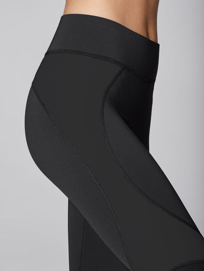 Releve Fashion Michi Black Glory Legging Sustainable Fashion Athleisure Activewear Brand Positive Luxury Brands to Trust Purchase with Purpose Shop for Good