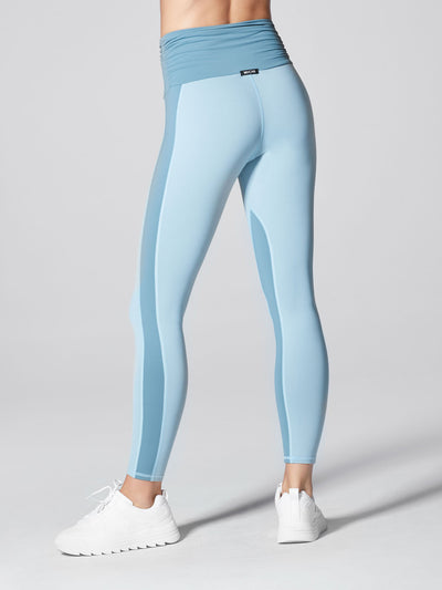 Releve Fashion Michi Sky Wave High Waisted Legging Sustainable Fashion Athleisure Activewear Brand Positive Luxury Brands to Trust Purchase with Purpose Shop for Good