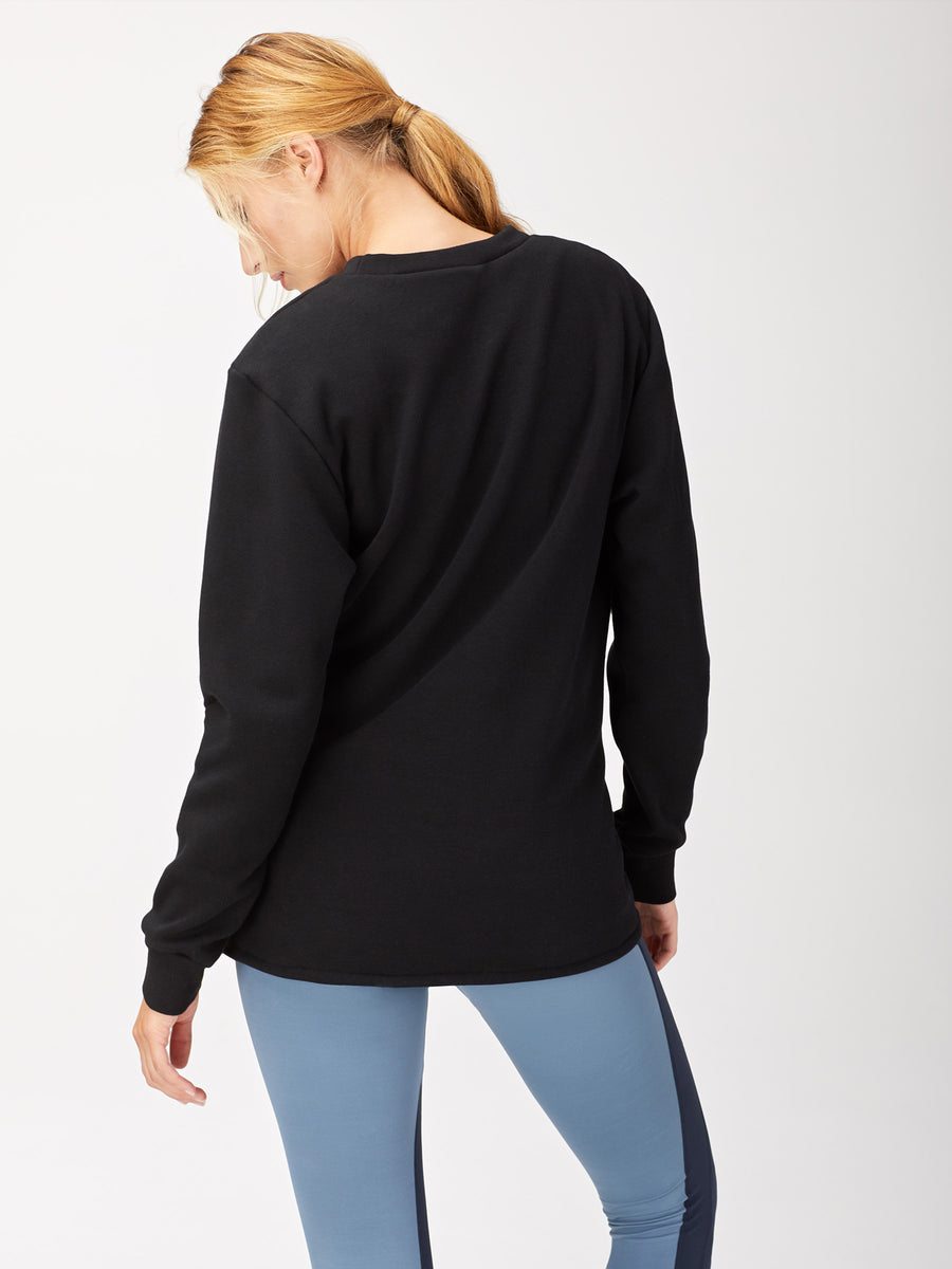 Farfalla Sweatshirt, Black