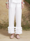 Releve Fashion Muzungu Sisters White Talitha Pants Bamboo Fables Ethical Designers Sustainable Fashion Brand Handmade Artisanal Positive Fashion Conscious Luxury Purchase with Purpose Shop for Good