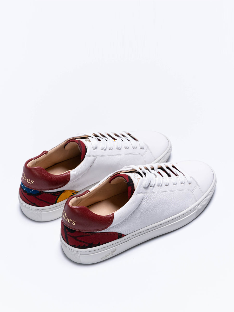 Releve Fashion Wibes Shoes N'Zassa Hibiscus Trainers Sneakers Ethical Designers Sustainable Fashion Brands Purchase with Purpose Shop for Good