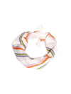 Releve Fashion Abury Multicolour Striped Cotton Bandana Sustainable Ethical Fashion Brand Certified B Corp Positive Luxury Brands to Trust Butterfly Mark Positive Fashion Purchase with Purpose Shop for Good