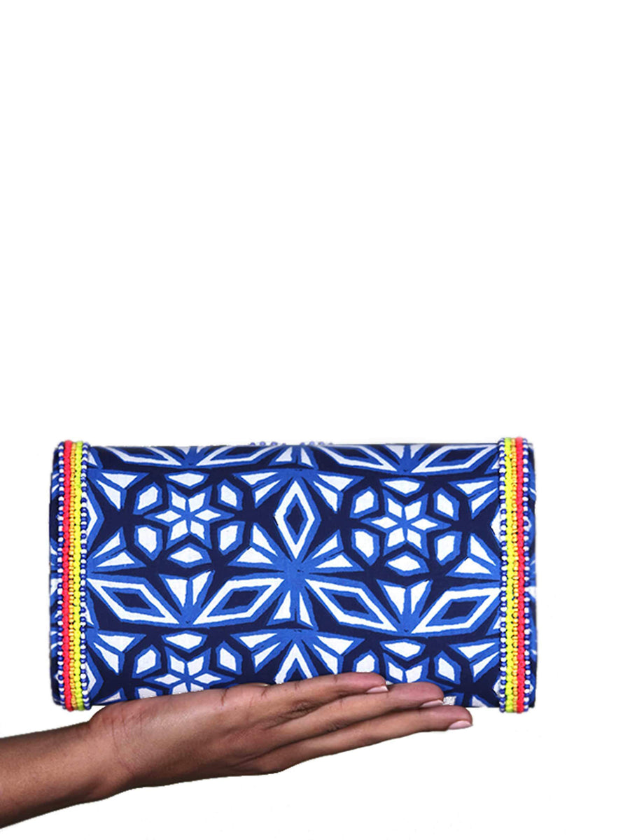 Handmade Beaded Atlantic Clutch