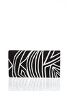 Releve Fashion Beatriz Black White Zebra Cheska Clutch Bag Ethical Designers Sustainable Fashion Brands Artisanal Handmade Accessories Purchase with Purpose Shop for Good