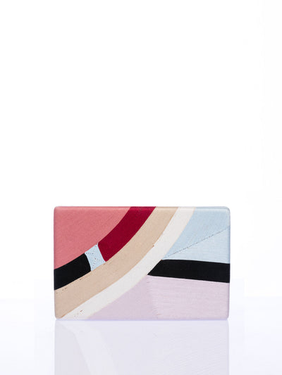 Releve Fashion Beatriz Pink Lavender Sky Blue Elio Clutch Bag Ethical Designers Sustainable Fashion Brands Artisanal Handmade Accessories Purchase with Purpose Shop for Good