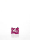 Releve Fashion Beatriz Zebra Cuff Fuchsia White Ethical Designers Sustainable Fashion Brands Artisanal Handmade Accessories Purchase with Purpose Shop for Good
