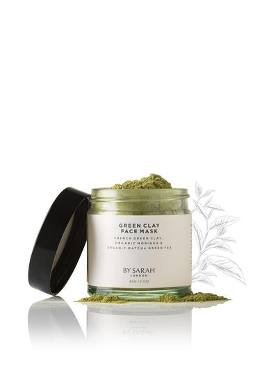 Releve Fashion By Sarah London Green Clay Face Mask Ethical and Sustainable Lifestyle Brand Natural Organic Skincare Eco-Age Brandmark Certified Cruelty-free Vegan Purchase with Purpose Shop for Good