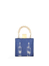 Releve Fashion Clare Hynes Blue Meghan Bag Ethical Designers Sustainable Fashion Brands Purchase with Purpose Shop for Good