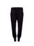 Tailored Harem Wool Joggers, Black