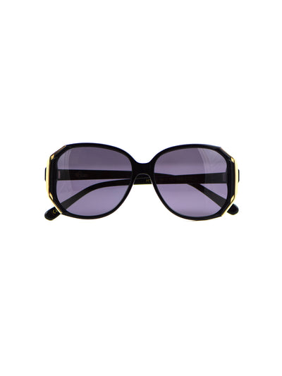 Releve Fashion Heidi London Black Hexagon Sunglasses Ethical Designers Sustainable Fashion Accessories Brand Eyewear Positive Fashion Purchase with Purpose Shop for Good