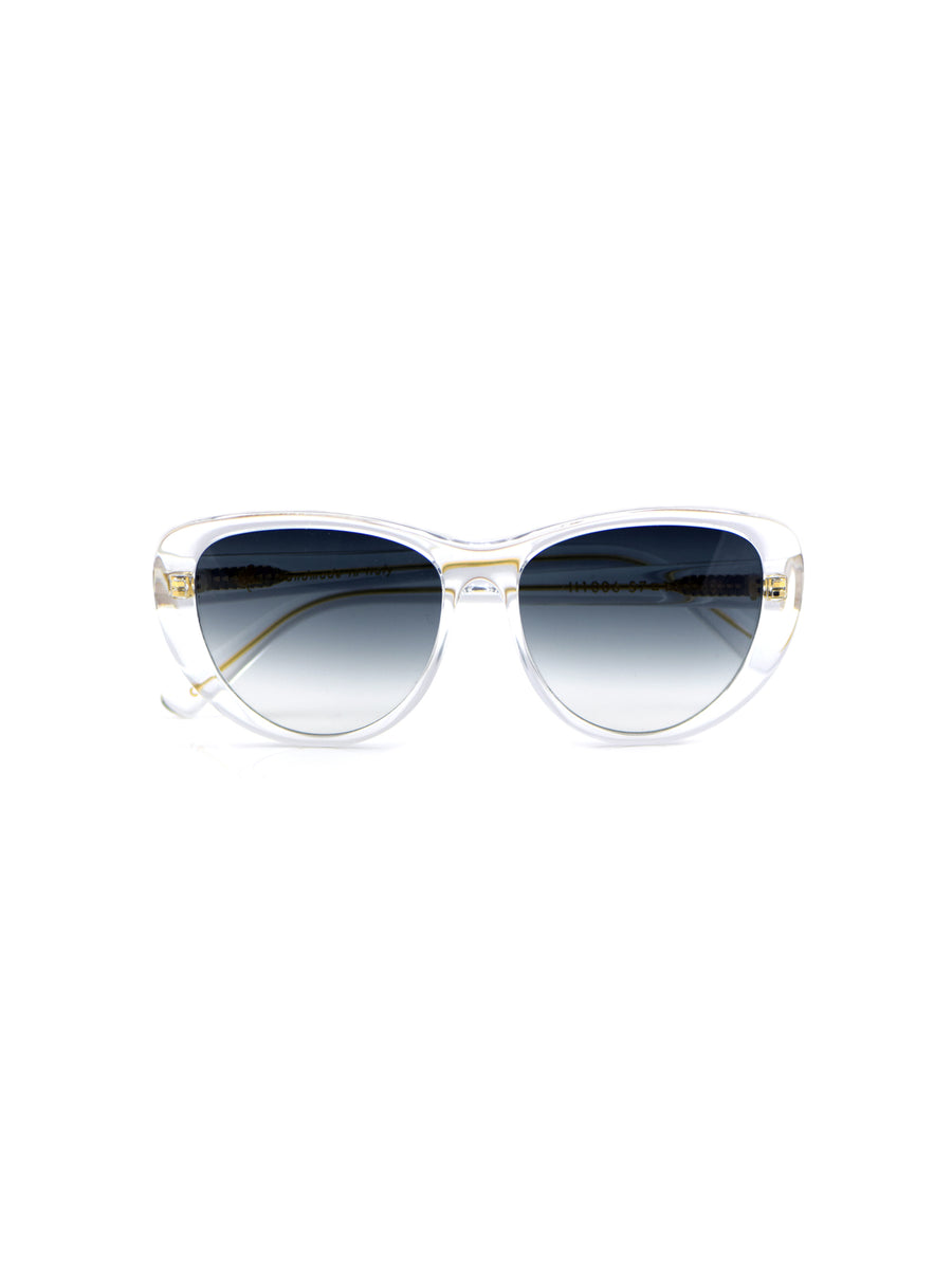 Releve Fashion Heidi London Crystal Classic Cateye Sunglasses Ethical Designers Sustainable Fashion Accessories Brand Eyewear Positive Fashion Purchase with Purpose Shop for Good