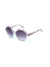 Forget Me Not Circular Sunglasses
