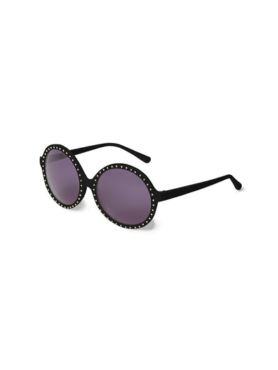 Releve Fashion Heidi London Gold Studded Circular Sunglasses Ethical Designers Sustainable Fashion Accessories Brand Eyewear Positive Fashion Purchase with Purpose Shop for Good