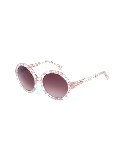 Releve Fashion Heidi London Amaranth Circular Sunglasses Ethical Designers Sustainable Fashion Accessories Brand Eyewear Positive Fashion Purchase with Purpose Shop for Good