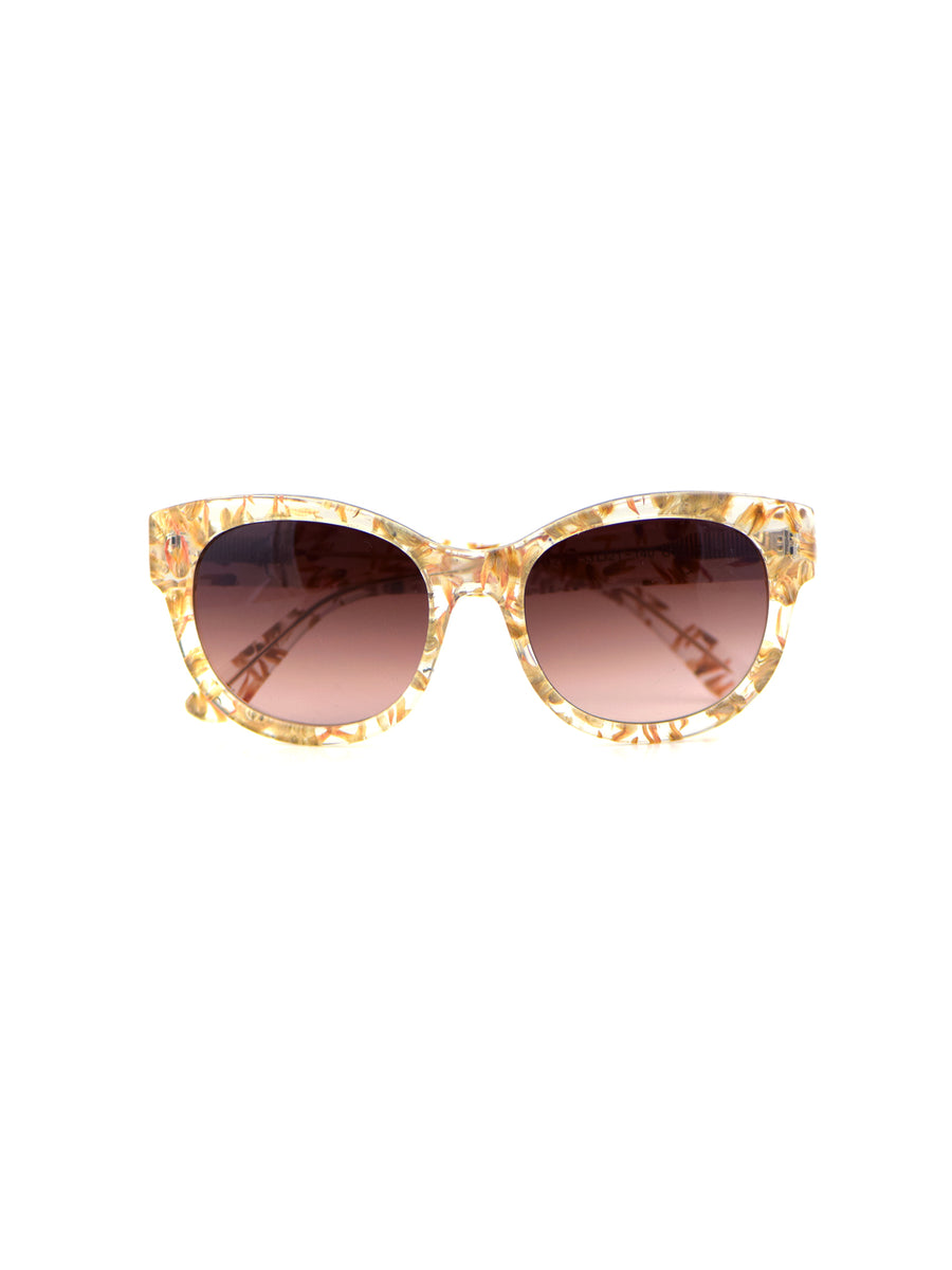 Releve Fashion Heidi London Amaranth Classic Square Sunglasses Ethical Designers Sustainable Fashion Accessories Brand Eyewear Positive Fashion Purchase with Purpose Shop for Good