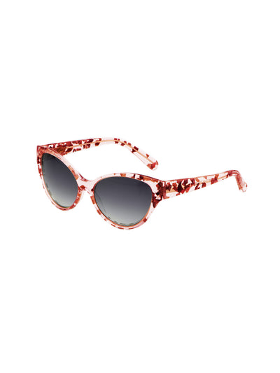 Releve Fashion Heidi London Rose Petal Classic Cateye Sunglasses Ethical Designers Sustainable Fashion Accessories Brand Eyewear Positive Fashion Purchase with Purpose Shop for Good