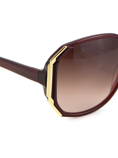 Releve Fashion Heidi London Ruby Hexagon Sunglasses Ethical Designers Sustainable Fashion Accessories Brand Eyewear Positive Fashion Purchase with Purpose Shop for Good