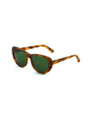 Releve Fashion Heidi London Wood Forest Green Classic Cateye Sunglasses Ethical Designers Sustainable Fashion Accessories Brand Eyewear Positive Fashion Purchase with Purpose Shop for Good