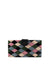 Caraga Clutch, Black / Pink / Blue