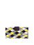 Caraga Clutch, Purple / Yellow / Grey