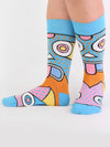 Releve Fashion Look Mate Shop Buy Now Sustainable Fashion Ethical Fashion Positive Fashion Brand Clothing Accessories Socks Super Socks by Supermundane