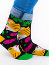 Releve Fashion Look Mate Shop Buy Now Sustainable Fashion Ethical Fashion Positive Fashion Brand Clothing Accessories Socks Tiger Socks by Hedof