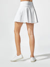 Releve Fashion Michi White Ace Skirt Ethical Designers Sustainable Fashion Athleisure Activewear Brand Positive Luxury Brands to Trust Purchase with Purpose Shop for Good