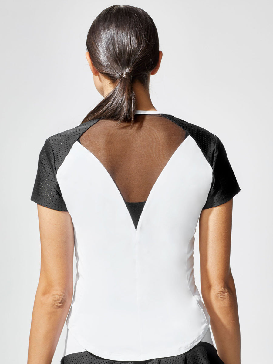 Ace Top, White / Black