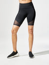 Releve Fashion Michi Circuit Bike Short Black Sustainable Fashion Athleisure Activewear Brand Positive Luxury Brands to Trust Purchase with Purpose Shop for Good