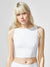 Formula Crop Top, White