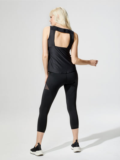 Releve Fashion Michi Formula Tank Black Sustainable Fashion Athleisure Activewear Brand Positive Luxury Brands to Trust Purchase with Purpose Shop for Good