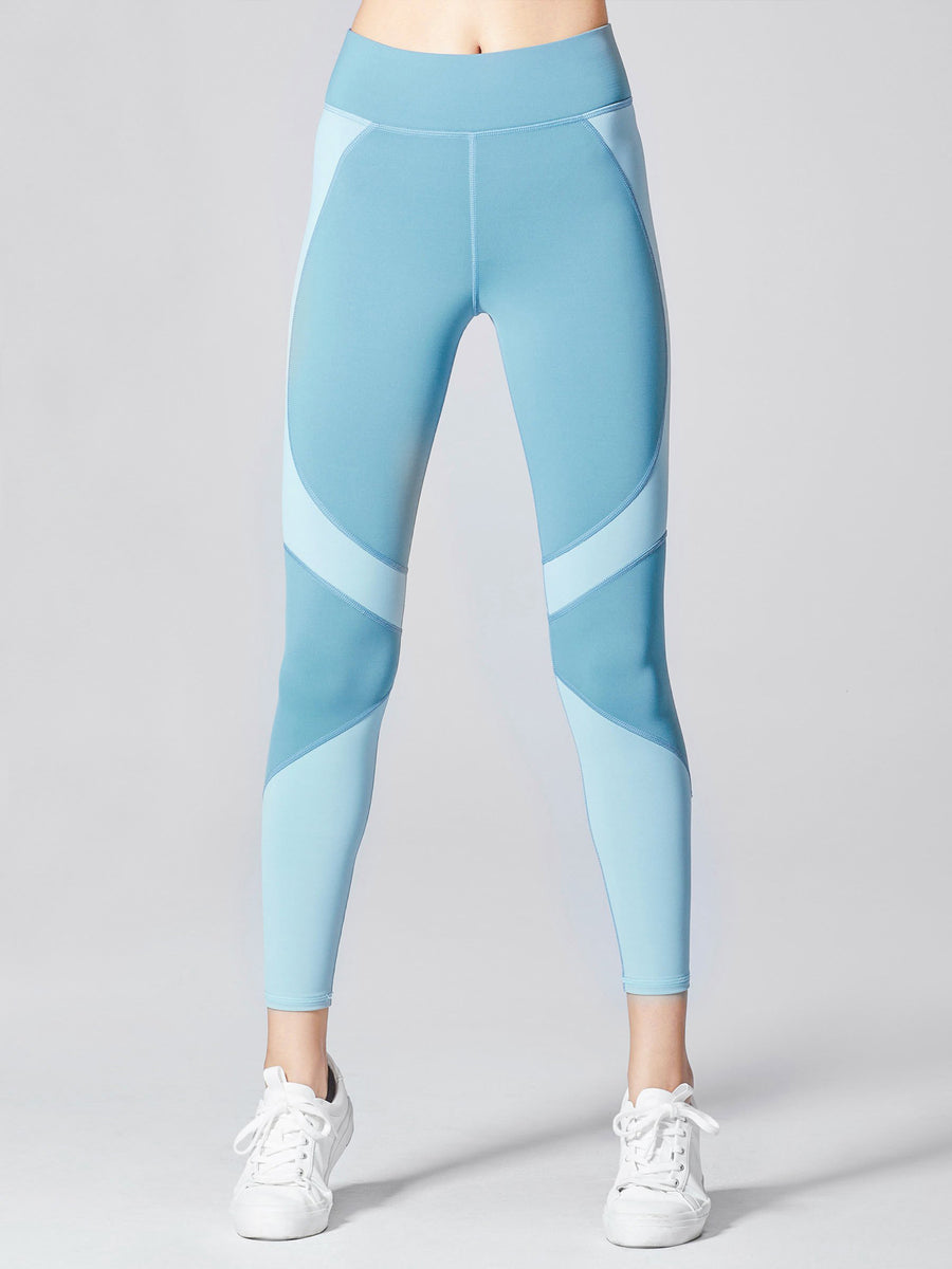 Releve Fashion Michi Sky Glory Legging Ethical Designers Sustainable Fashion Athleisure Activewear Brand Positive Luxury Brands to Trust Purchase with Purpose Shop for Good
