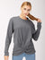 Farfalla Sweatshirt, Charcoal Grey