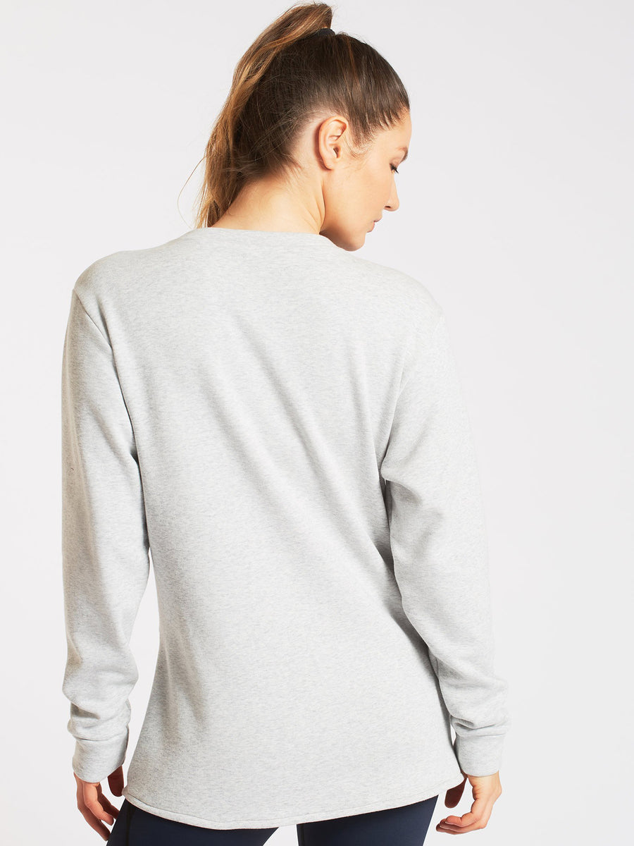 Farfalla Sweatshirt, Light Heather Grey