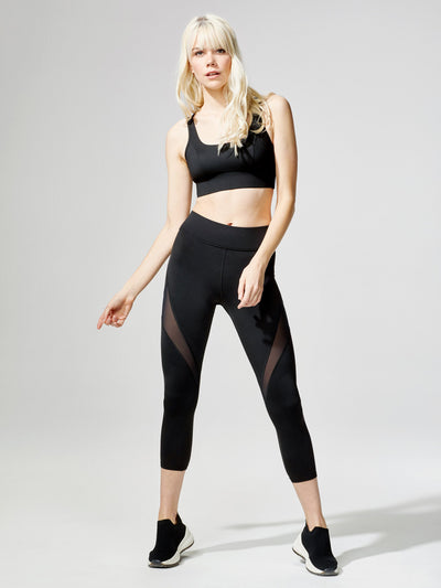 Releve Fashion Power Bra Black Sustainable Fashion Athleisure Activewear Brand Positive Luxury Brands to Trust Purchase with Purpose Shop for Good