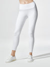 Releve Fashion Michi White Rally Legging Ethical Designers Sustainable Fashion Athleisure Activewear Brand Positive Luxury Brands to Trust Purchase with Purpose Shop for Good
