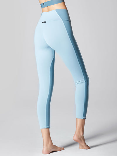 Releve Fashion Michi Sky Vibe High Waisted Legging Sustainable Fashion Athleisure Activewear Brand Positive Luxury Brands to Trust Purchase with Purpose Shop for Good