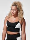 Releve Fashion Michi Black White Alba Crop Top Ethical Designer Brand Sustainable Fashion Athleisure Activewear Athleticwear Positive Luxury Brands to Trust Purchase with Purpose Shop for Good