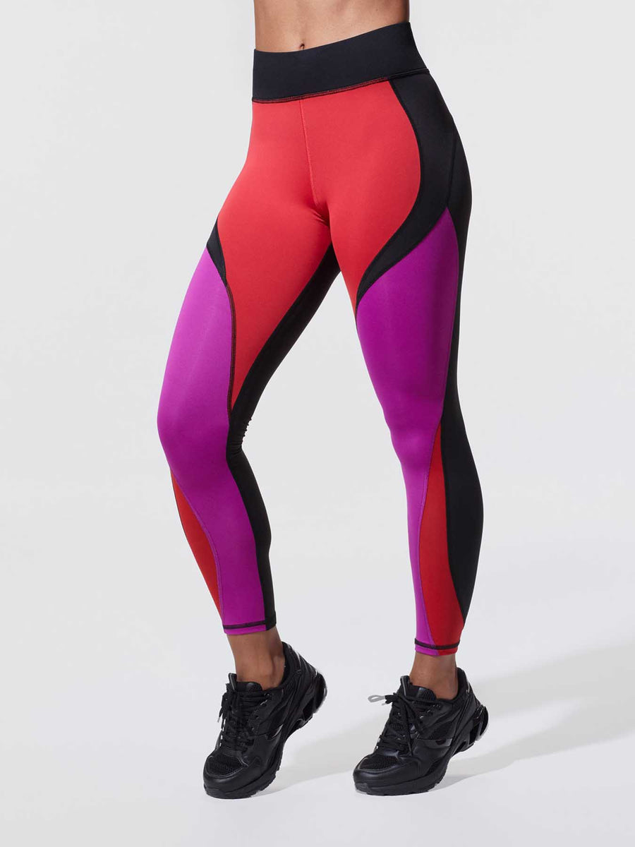 Releve Fashion Michi Blaze Flare Leggings Ethical Designer Brand Sustainable Fashion Athleisure Activewear Athleticwear Positive Luxury Brands to Trust Purchase with Purpose Shop for Good