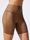Releve Fashion Michi Bronze Instinct Bike Short Ethical Designer Brand Sustainable Fashion Athleisure Activewear Athleticwear Positive Luxury Brands to Trust Purchase with Purpose Shop for Good