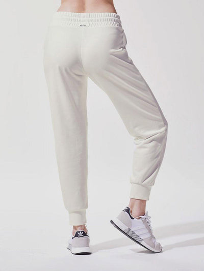 Releve Fashion Michi Ivory Interstellar Sweatpants Ethical Designer Brand Sustainable Fashion Athleisure Activewear Athleticwear Positive Luxury Brands to Trust Purchase with Purpose Shop for Good