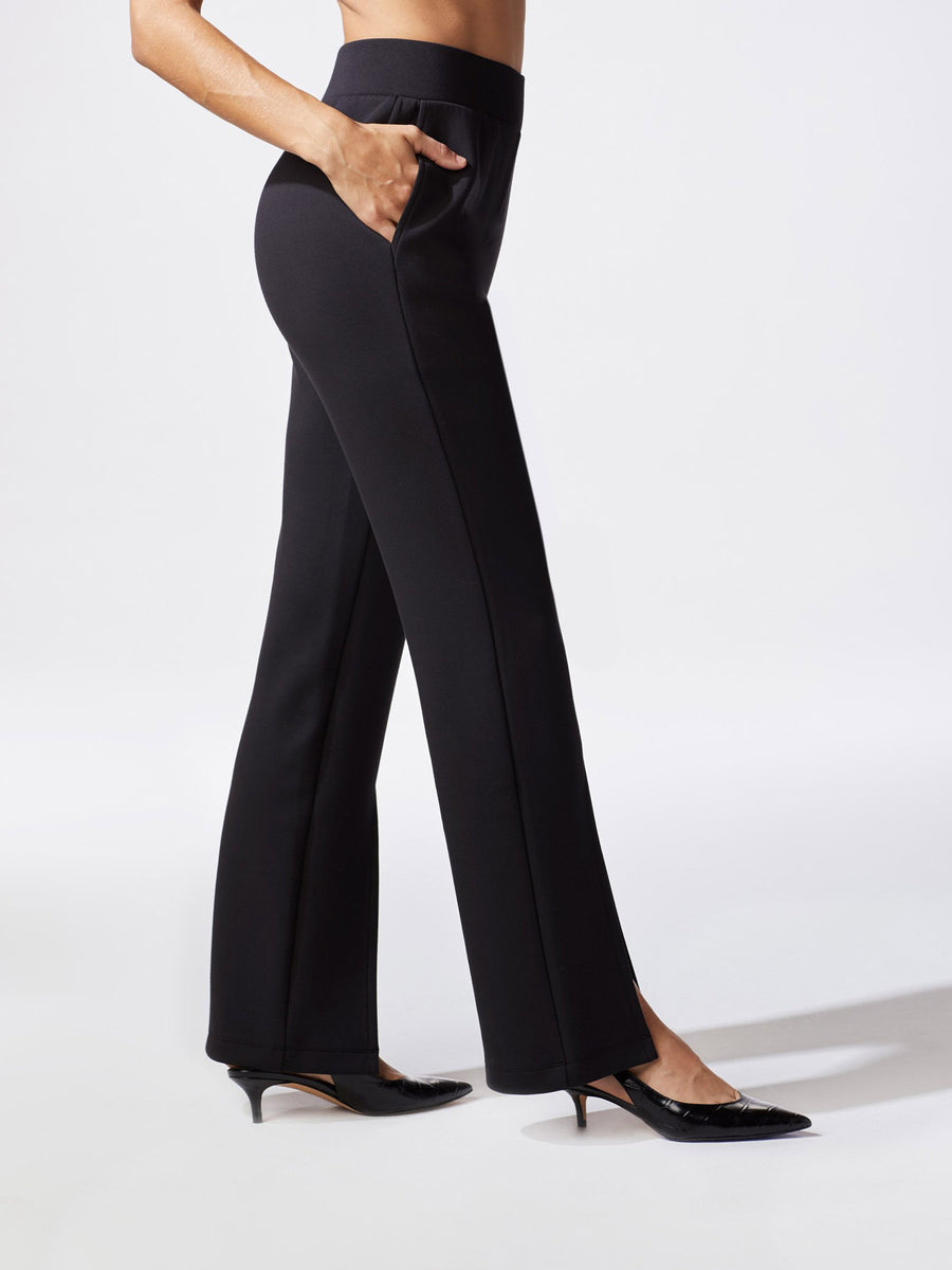 Releve Fashion Michi Black Lair Pant Ethical Designer Brand Sustainable Fashion Athleisure Activewear Athleticwear Positive Luxury Brands to Trust Purchase with Purpose Shop for Good